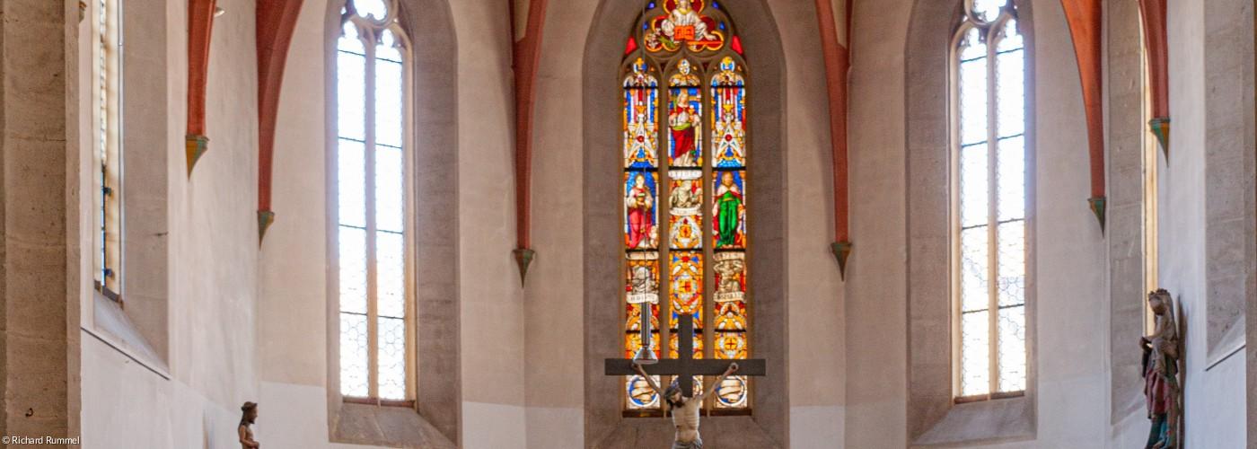 Kirche Kirchenfüherinnenausbildung Spitalkirche Rothenburg