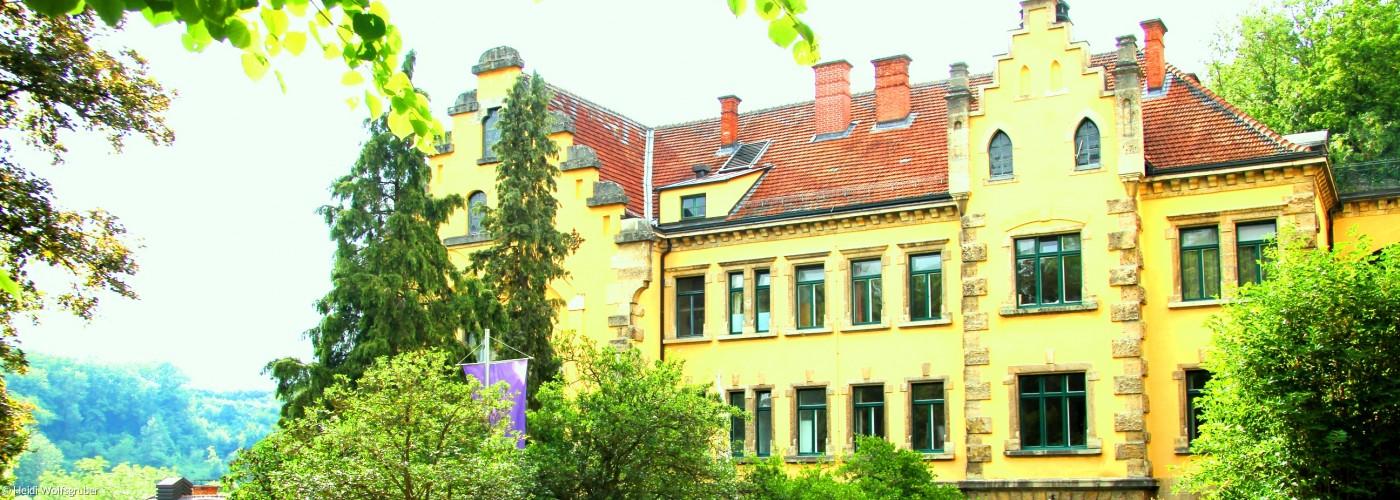 Wildbad Rothenburg Hauptgebäude verfremdet